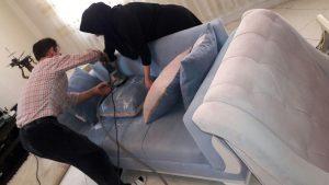 شستشو مبل در منزل در مشهد