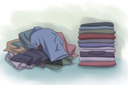 روش های تمیز و مرتب کردن اتاق خواب